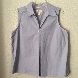 Talbots Lavender color shirt